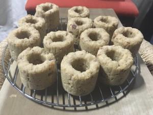 蒸しドーナッツ